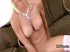 lewd big-tit d like to fuck wench copulates her