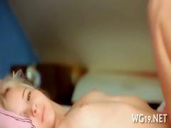 fascinating hotty masturbating