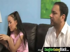 his teen daughter is curious about a large dark