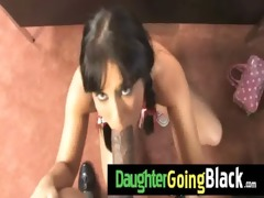 darksome stud copulates my daughters youthful