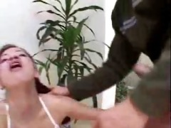 aged guys fuck youthful latin babe angel