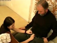grandpapa nails fresh cum-hole