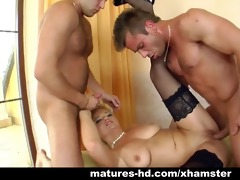 mother i blond luciana takes on younger men