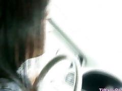 oral-sex in dad car