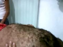 curly older stud waxing