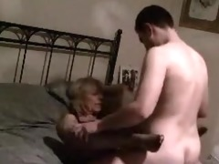 mature mama drilled on secret video scene by