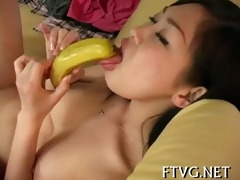 fake penis in her soaked holes