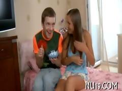 lewd chap kisses girl&#641 s