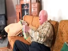 old dude bonks the cleaning lady