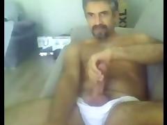 macho de cavanhaque pauzudo na livecam