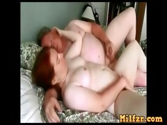 real plump daughter drilled by daddy