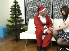 svetlana and her hawt youthful male ally sit