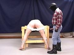 lustful pig dad torturing lustful g
