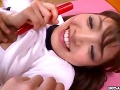 japanese beauties seduce sexy sister at park.avi