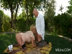 angel and gal in oral job