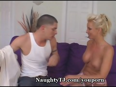 mature chick bangs younger boy