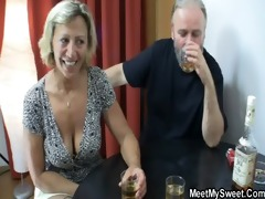 perverted parents fuck his gf