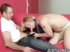 muscle dilf copulates boss