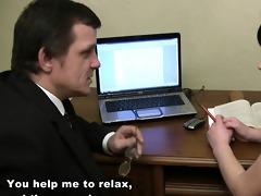 tricky teacher seducing sweet student