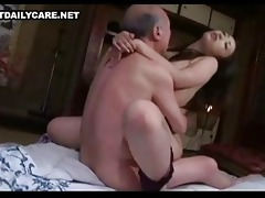 old and youthful oriental pair 9