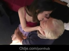 limber older man receives raunchy apology from