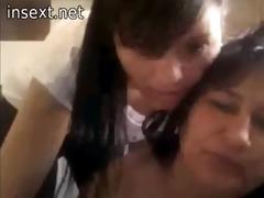 daughter punishes mother on livecam