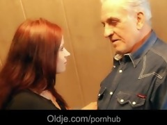 grand-dad acquires raunchy thanks from hussy