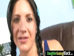 youthful daughter with priceless wazoo screwed by