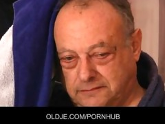 old unsightly man fuck breathtaking youthful gals