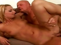 favourable grand-dad enjoying sexy sex with legal