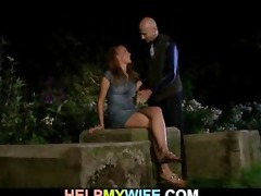 fellow gets cash for nailing his hot wife