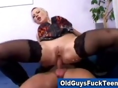 old boys fuck sexy younger babe