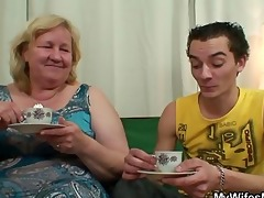 he is copulates her massive mommy and receives