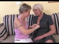 grandma and juvenile beauty