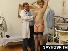 older gyno doctor operates a hidden livecam