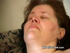 younger lad dildos old womans ass and copulates