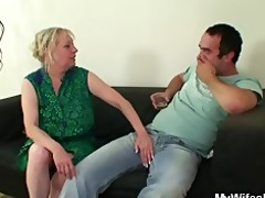 she is finds him fucking her mommy
