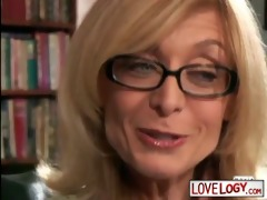 mature honeys younger males nina hartley, large