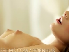 nubile films - 47 year old bawdy cleft cums so