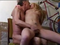 immodest old lad fuck a juvenile blonde by