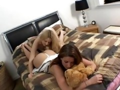 stepdaughter caught being lesbo
