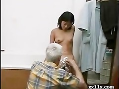 granddad and young beauty
