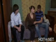 precious group-sex with legal age teenager girl