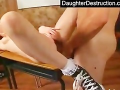 juvenile teen daughter humiliate