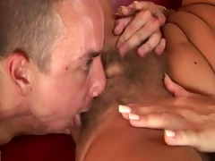 blond curly aged copulates younger boy