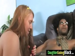 watchung my daughter getting drilled by dark rod 8