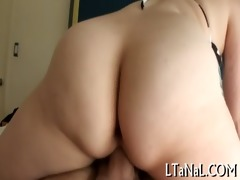 guy cums on his sexy gf