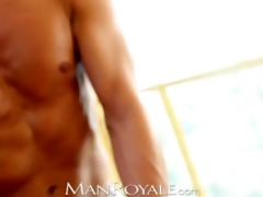 manroyale muscle dad acquires serviced by twinks