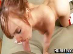 big tit hotty giving head