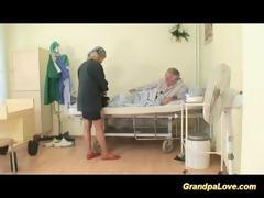 grandad honey fucking a good dark brown nurse